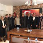 52 ORDUSPOR FK YÖNETİMİNDEN ASKF'YE ZİYARET